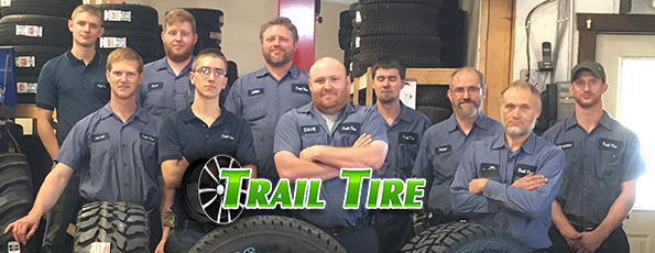 Trail Tire Staff